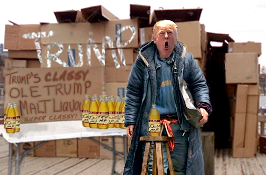 trump's stance on the homeless, GET A JOB
