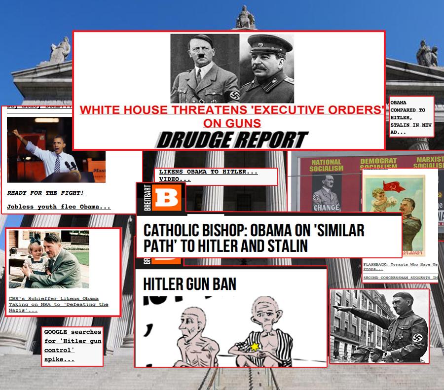 Drudge B Hitler Montage