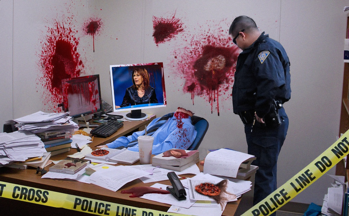 Bachman Head Explosion