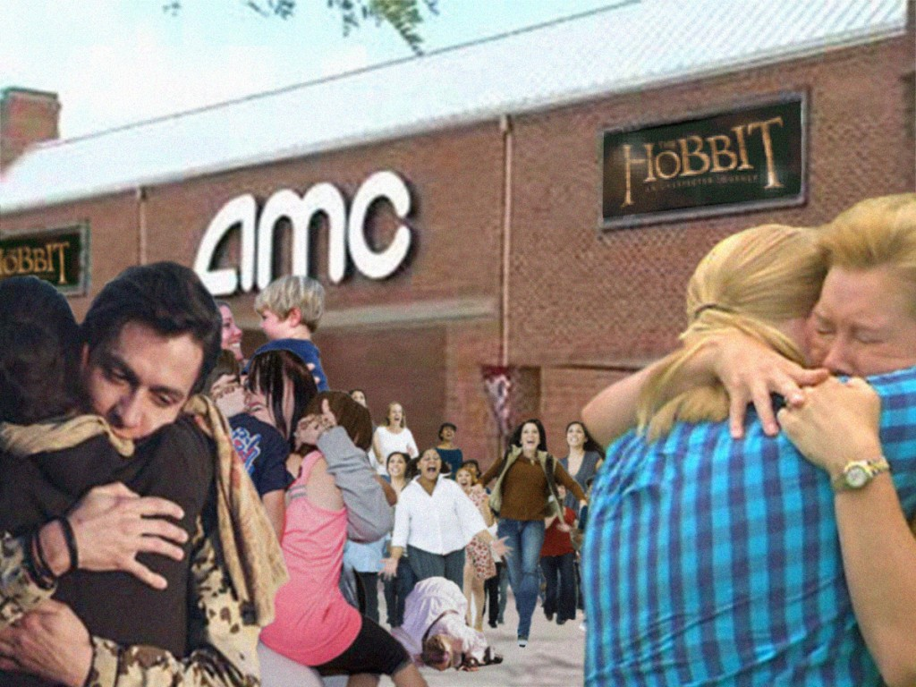 "MILLIONS REUNITED WITH FAMILIES AS FIRST SCREENINGS OF ""THE HOBBIT"" FINALLY BEGIN RELEASING PATRONS"