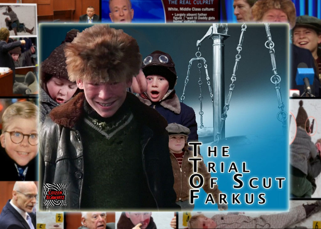 SCUT FARKUS NOT GUILTY IN SHOOTING DEATH OF LITTLE RALPHIE PARKER UNDER INDIANA STAND YOUR GROUND LAW