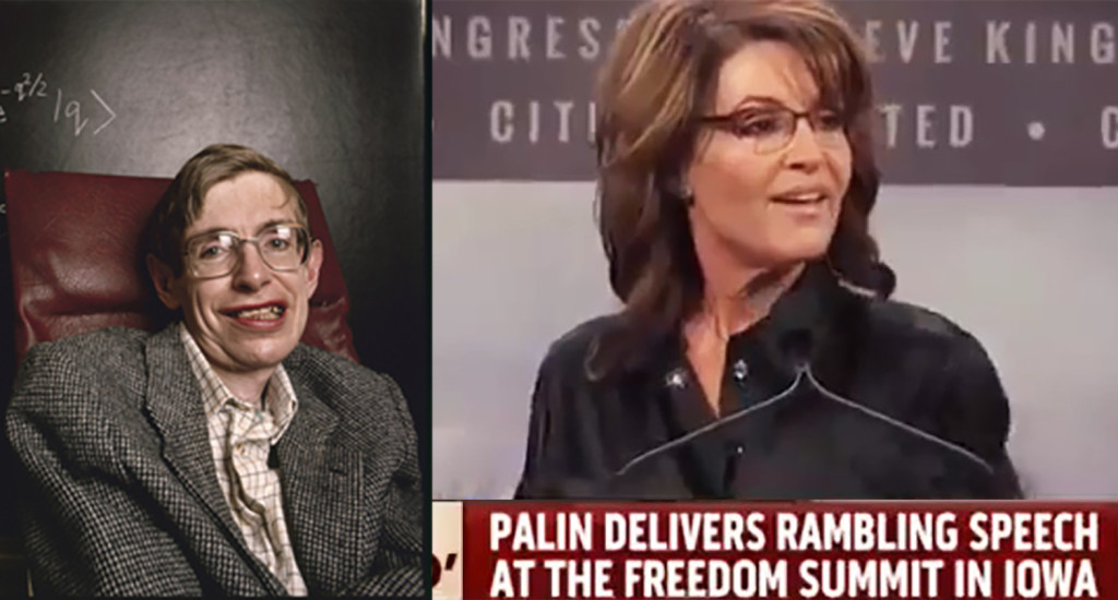 Palin Unification Theory