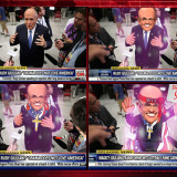 NATION STUNNED AS RUDY GIULIANI TRANSFORMS INTO LITERAL CARTOON OF HIMSELF ON LIVE TELEVISION